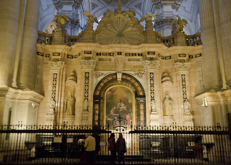 photoblog image INSIDE OF THE CATHEDRAL OF JAÉN (2 OF 10)